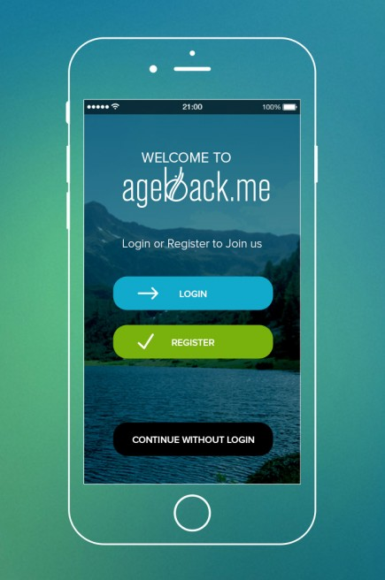 Ageback - Application Design