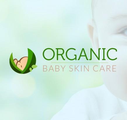 Organic Baby Skin Care - Branding