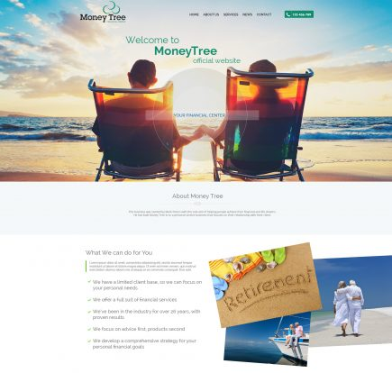 MoneyTree - Website Design & Development