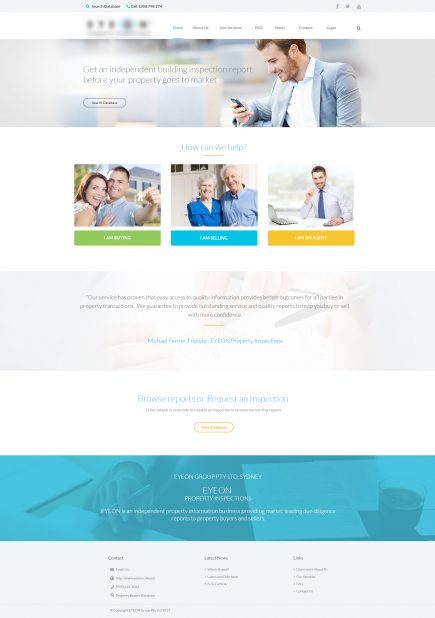 Eyeon - Web Design