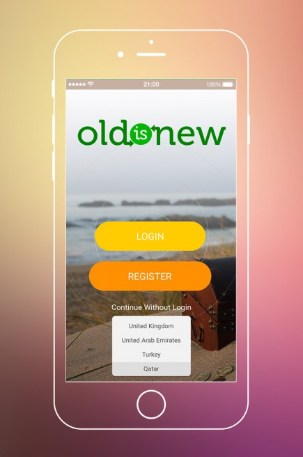 Old is New - App Design & Branding