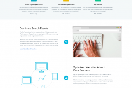WeDoSEO - Website Design