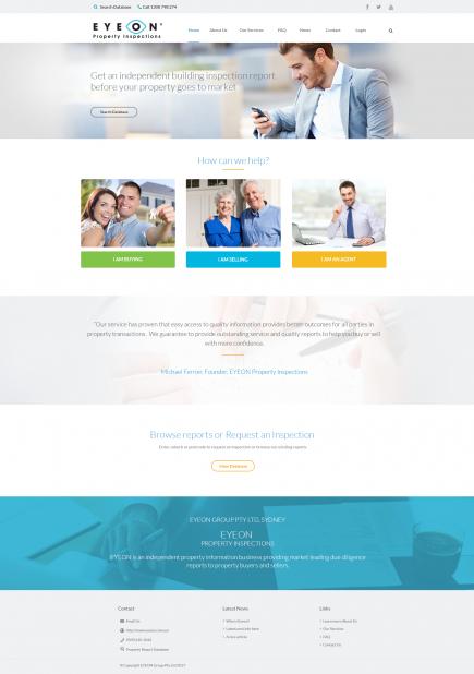 Eyeon - Web Design