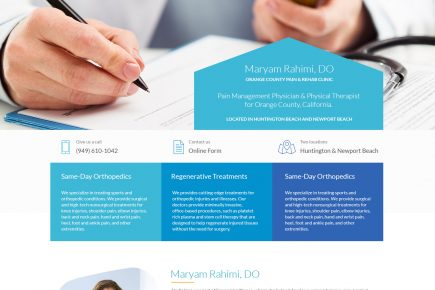 Clinic - Web Design