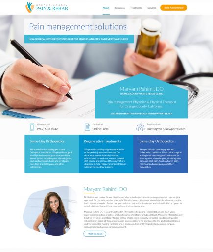 Clinic Web Design