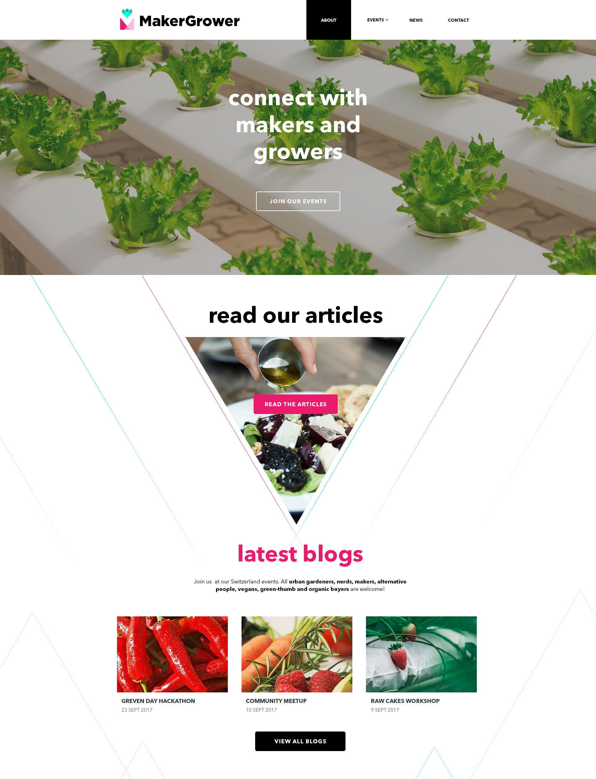 MakerGrower - Web Design - ReallusionDesign