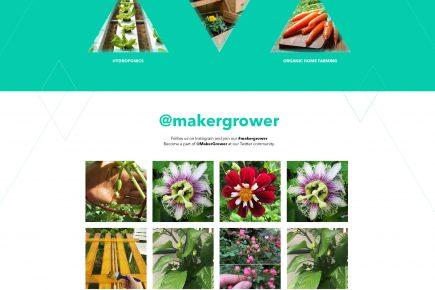 MakerGrower - Web Design